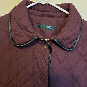 Lauren Ralph Lauren Jackets & Coats - Lauren by Ralph Lauren button down puffer jacket